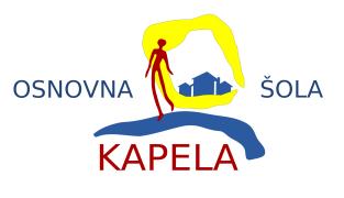 logotip OŠ Kapela - mali